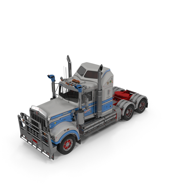 Kenworth T900 Legend Truck PNG & PSD Images