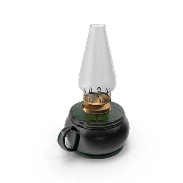 Kerosene Lamp Object