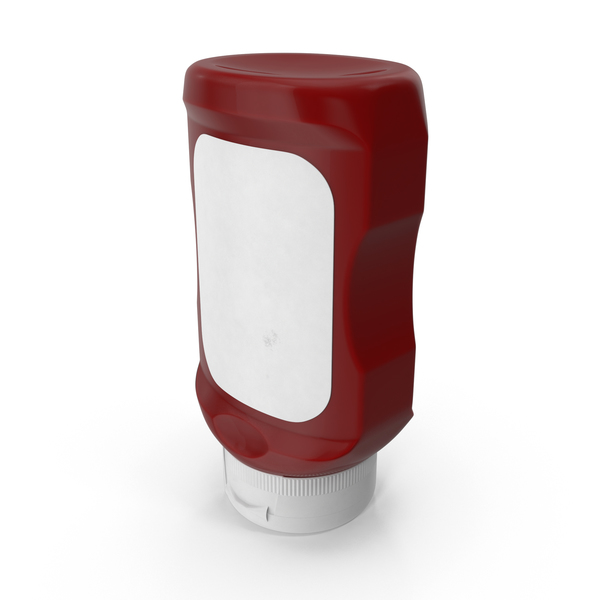 Condiment Dispenser: Ketchup Bottle PNG & PSD Images