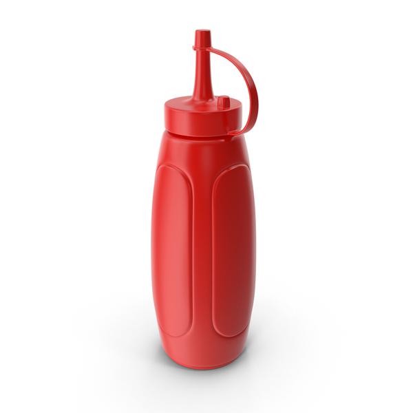 Ketchup Bottle PNG & PSD Images