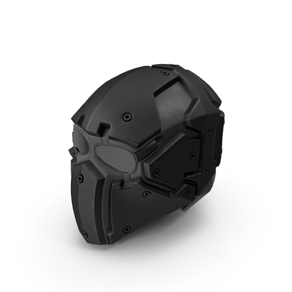 Helmet: Kevlar Tactical Mask PNG & PSD Images