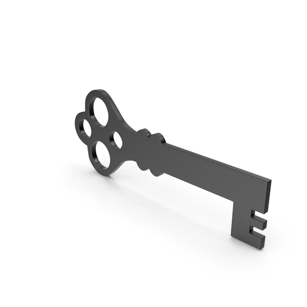 Computer: Key Black Icon PNG & PSD Images