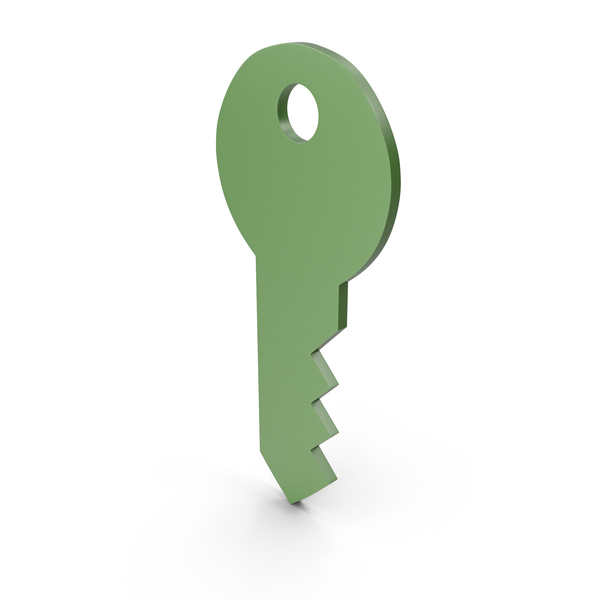 Computer: Key Green Icon PNG & PSD Images
