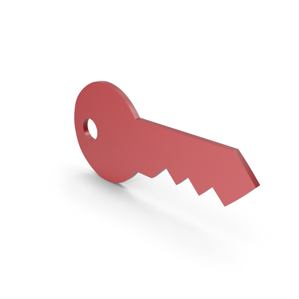 Computer: Key Red Icon PNG & PSD Images