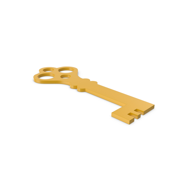 Computer: Key Yellow Icon PNG & PSD Images