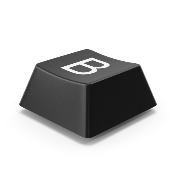 Computer: Keyboard Button B PNG & PSD Images