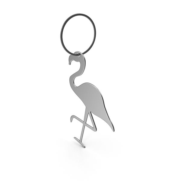 Keychain Flamingo PNG & PSD Images