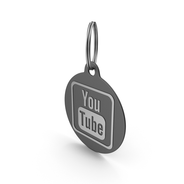 Keychains Youtube Logo Icon PNG & PSD Images