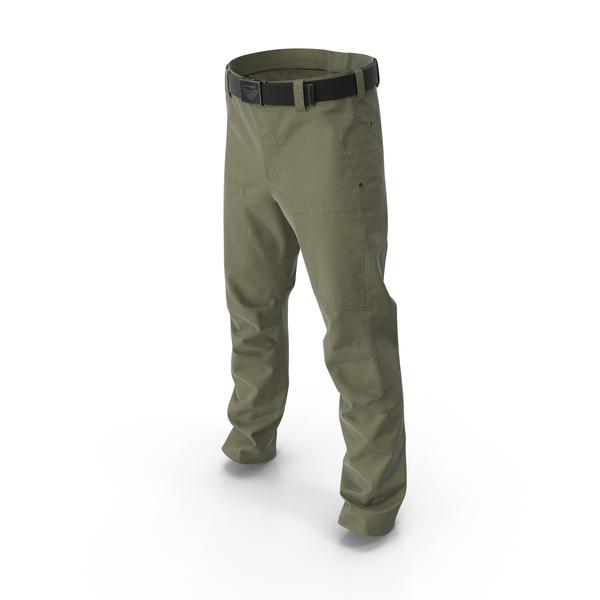Khaki Cargo Pants PNG & PSD Images