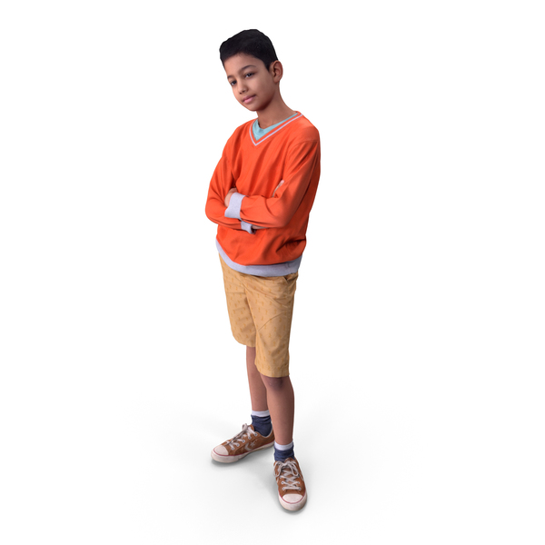 Boy: Kid Posed PNG & PSD Images