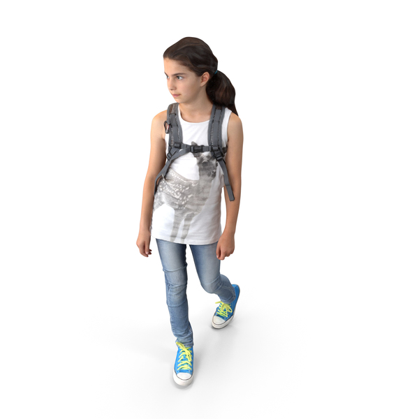 Characters: Kid Posed PNG & PSD Images