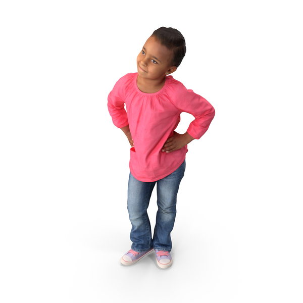 Girl: Kid Posed PNG & PSD Images