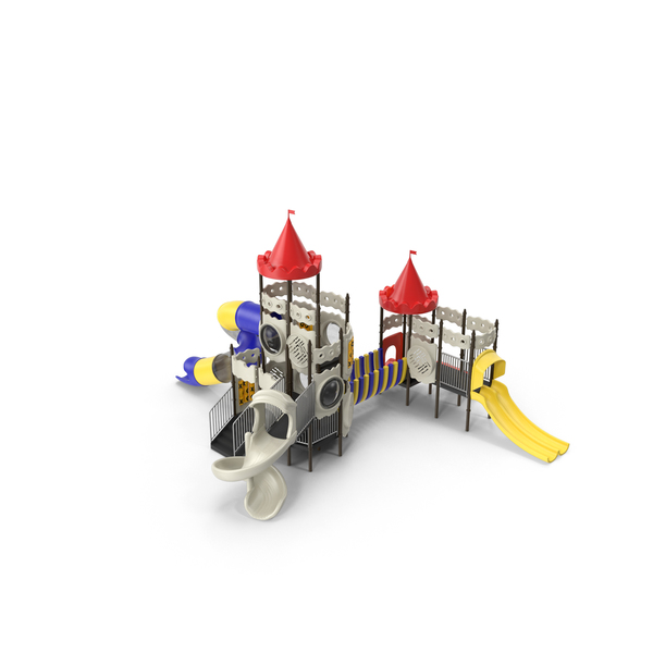 Kid's Playground Castle PNG & PSD Images