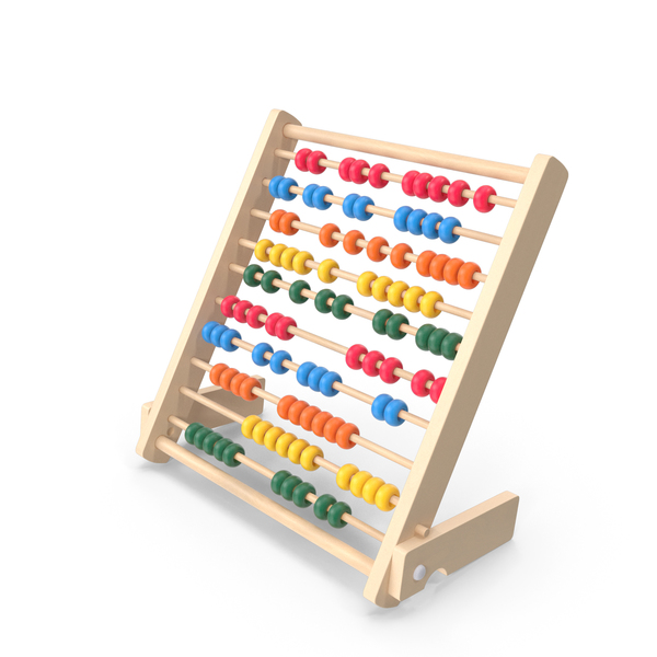 Kids Educational Wooden Abacus PNG & PSD Images
