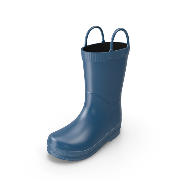Kids Rain Boot PNG & PSD Images