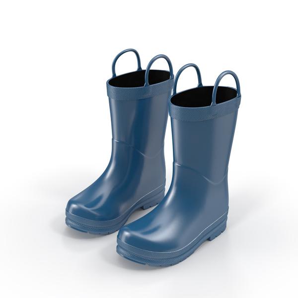 Kids Rain Boots PNG & PSD Images