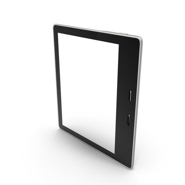 Tablet Computer: Kindle Oasis E-Reader PNG & PSD Images