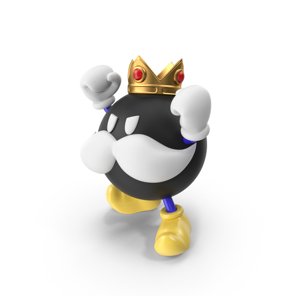 Game Character: King Bob Omb PNG & PSD Images