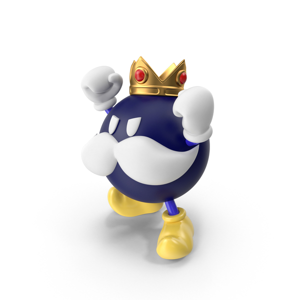 Game Character: King Bob-Omb PNG & PSD Images