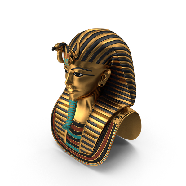 King Tut Burial Mask PNG & PSD Images