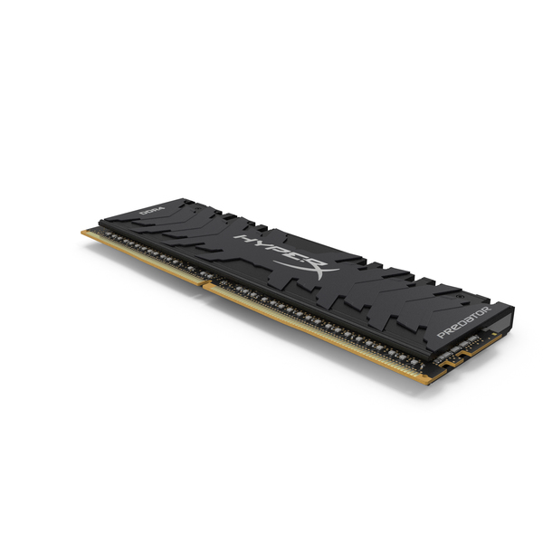 Kingston HyperX Predator Grey Radiator RAM PNG & PSD Images