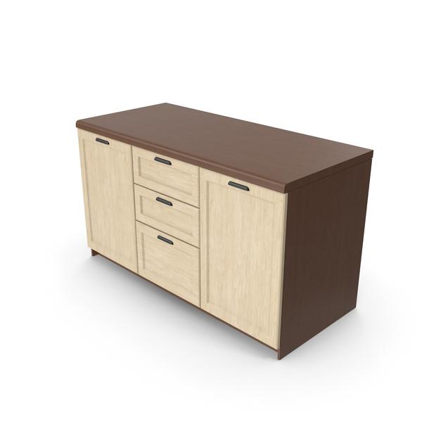 Set: Kitchen Cabinet PNG & PSD Images
