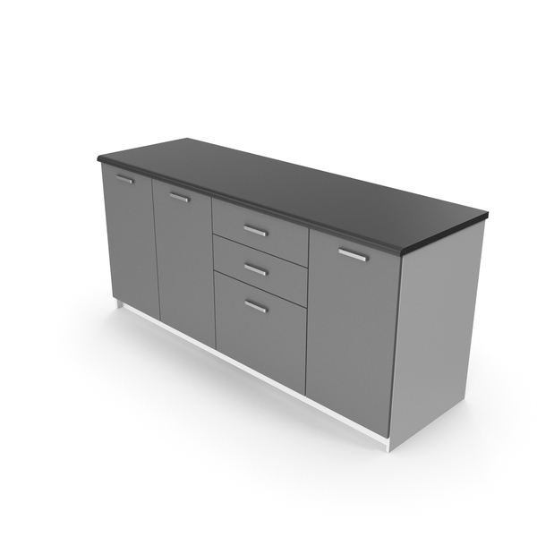 Kitchen Cabinets Gray PNG & PSD Images
