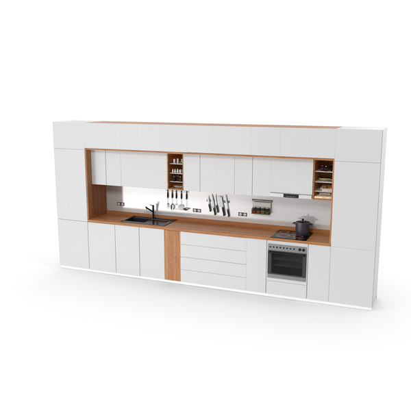 kitchen Furniture Set PNG & PSD Images