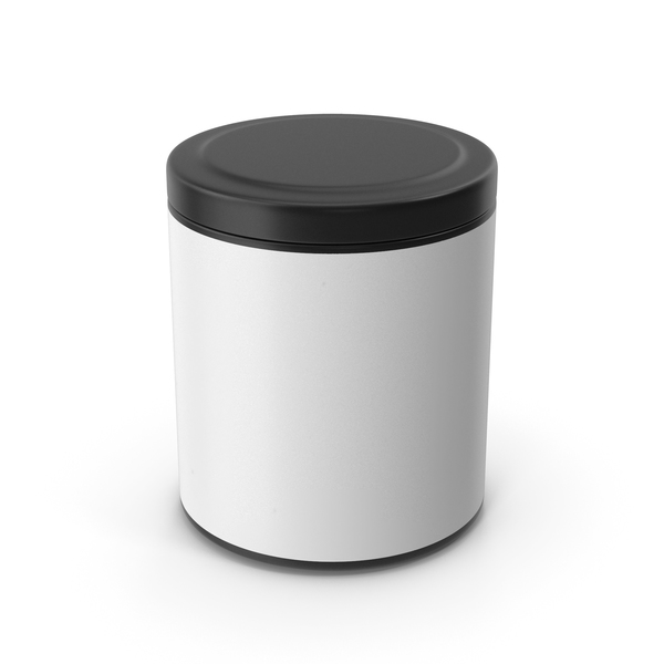 Plastic Food Container: Kitchen Jar Black PNG & PSD Images