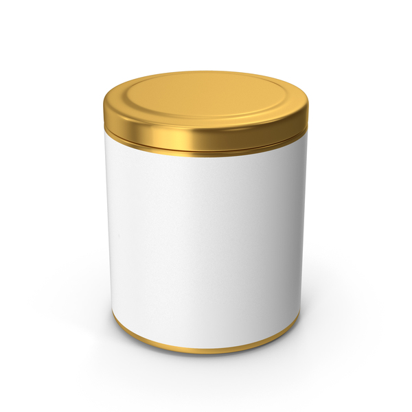 Kitchen Jar Gold PNG & PSD Images