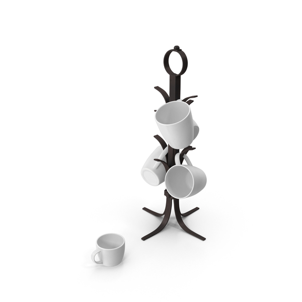 Kitchen Mug Tree PNG & PSD Images