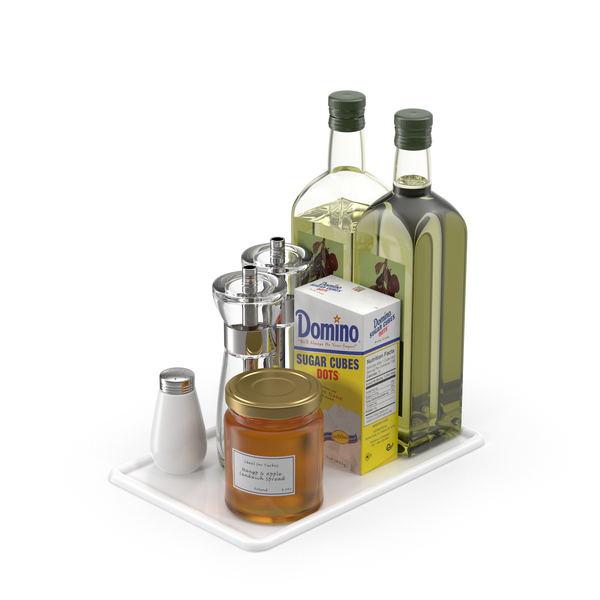 Kitchen Table Condiments PNG & PSD Images