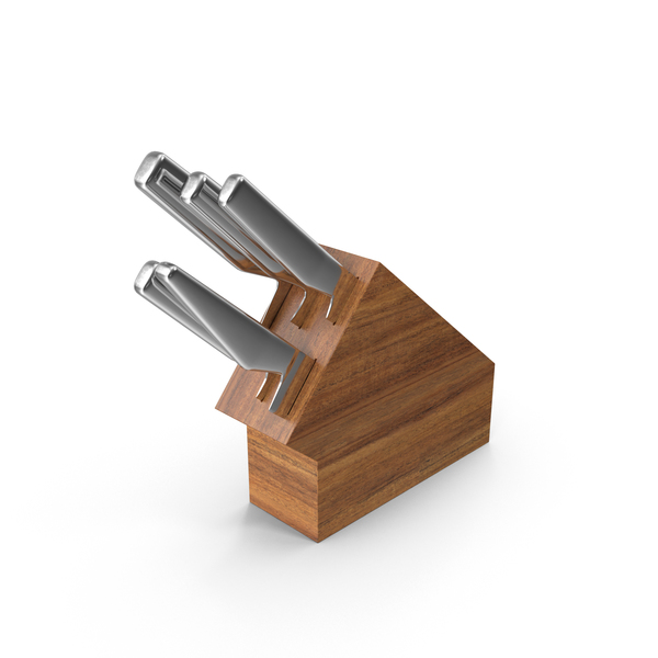 Knife Block PNG & PSD Images