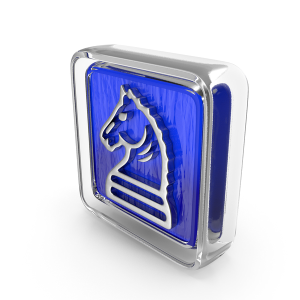 Logo: Knight Icon Glass PNG & PSD Images