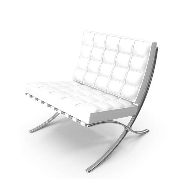 Bench: Knoll Barcelona Chair PNG & PSD Images