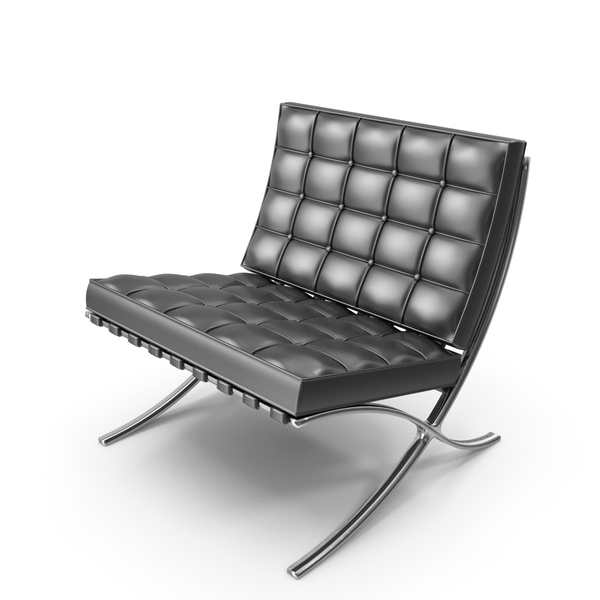 Lounge: Knoll Barcelona Chair PNG & PSD Images