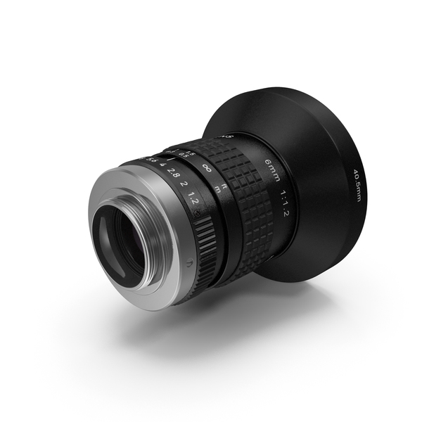 Lens: Kodak Camera Lenses With Hood PNG & PSD Images