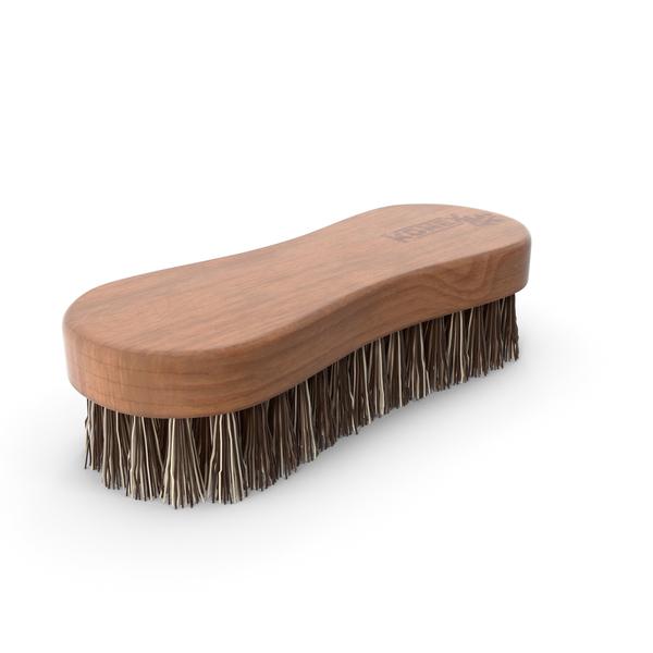 Konex Nylon Fiber Cleaning Brush Dark Wood PNG & PSD Images