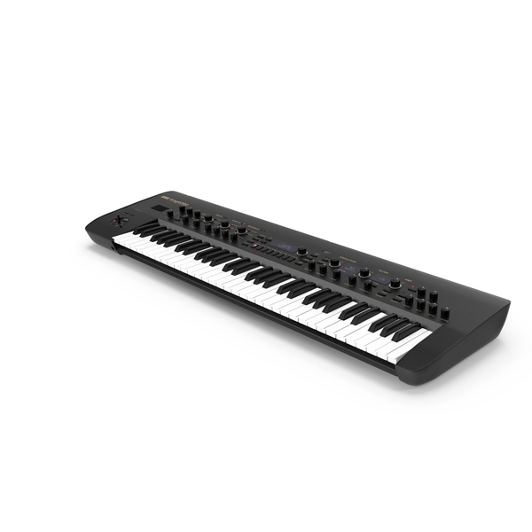 Korg KingKORG Synthesizer Black PNG & PSD Images