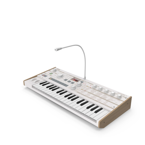 Korg MicroKORG Synthesizer and Vocoder PNG & PSD Images