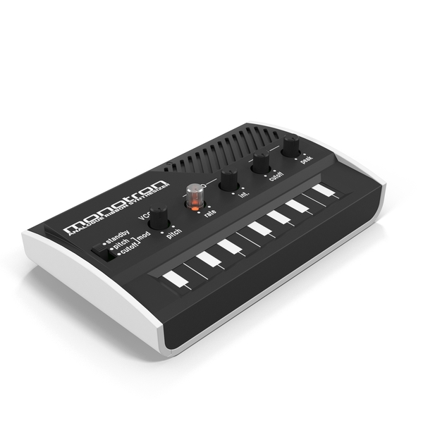 Korg Monotron Synthesizer PNG & PSD Images