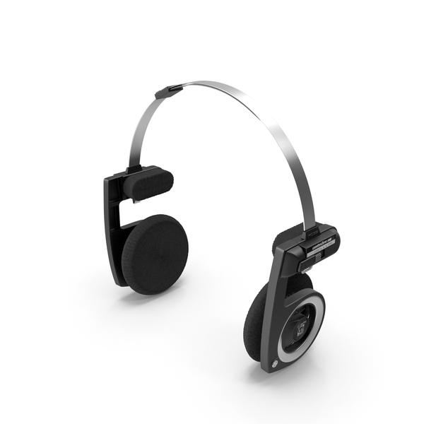 Koss Porta Pro Black Edition Headphones PNG & PSD Images
