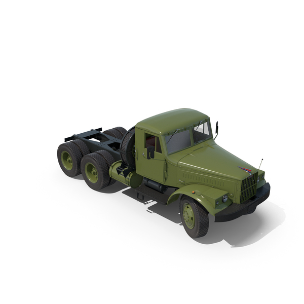 Military Trailer: KraZ Truck PNG & PSD Images