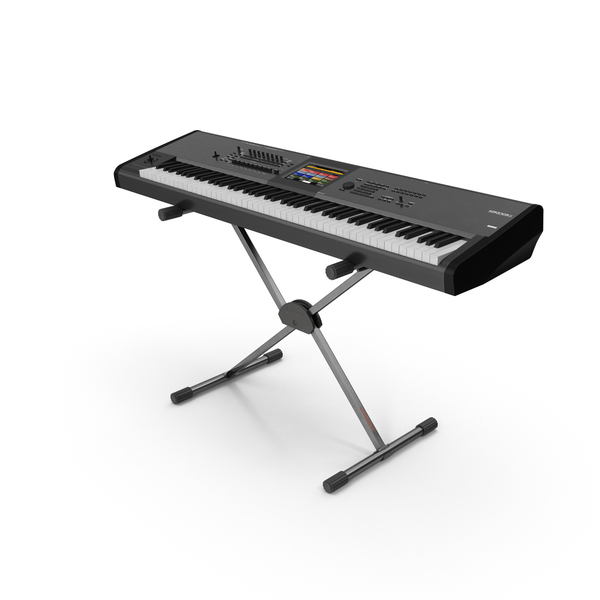 Keyboard: Kronos X Synthesizer PNG & PSD Images