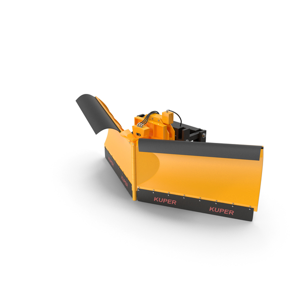 Snowplow: Kuper Snow Plough Blade PNG & PSD Images