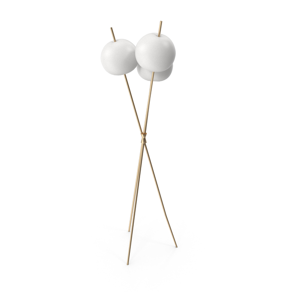 Kushi Floor Lamp by Kundalini PNG & PSD Images