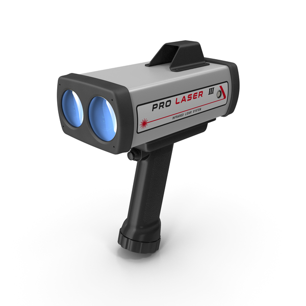 Kustom ProLaser III LIDAR Speed Gun PNG & PSD Images