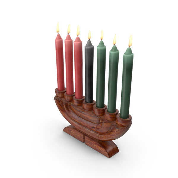 Kwanzaa Candelabra PNG & PSD Images