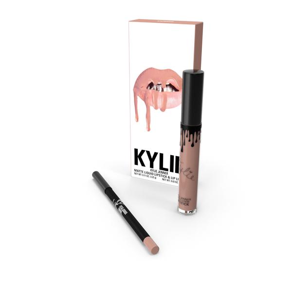 Lipstick: Kylie Jenner Matte Lip Kit PNG & PSD Images