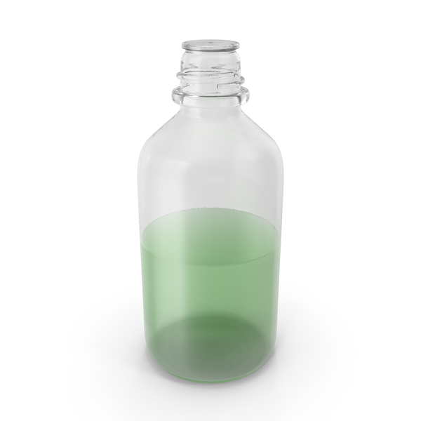 Laboratory Bottle Medium With Methanol PNG & PSD Images